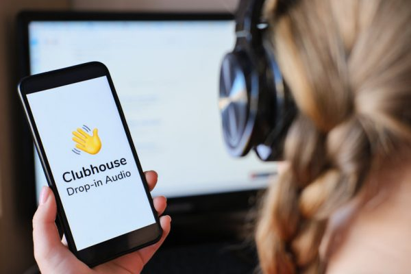 Bewerbung mit Clubhouse